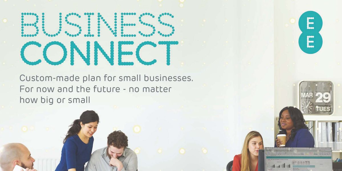 ee business connect advert